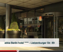 Vídeo presentación de abba Berlin Hotel