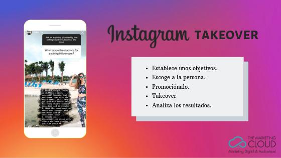 Objetivos y plan de un Instagram Takeover